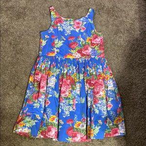 Ralph Lauren Floral tank top dress